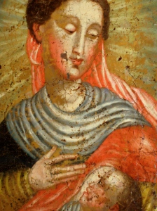 Madonna and Child detail