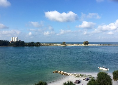Clearwater Beach, FL, really does live up to its' name.