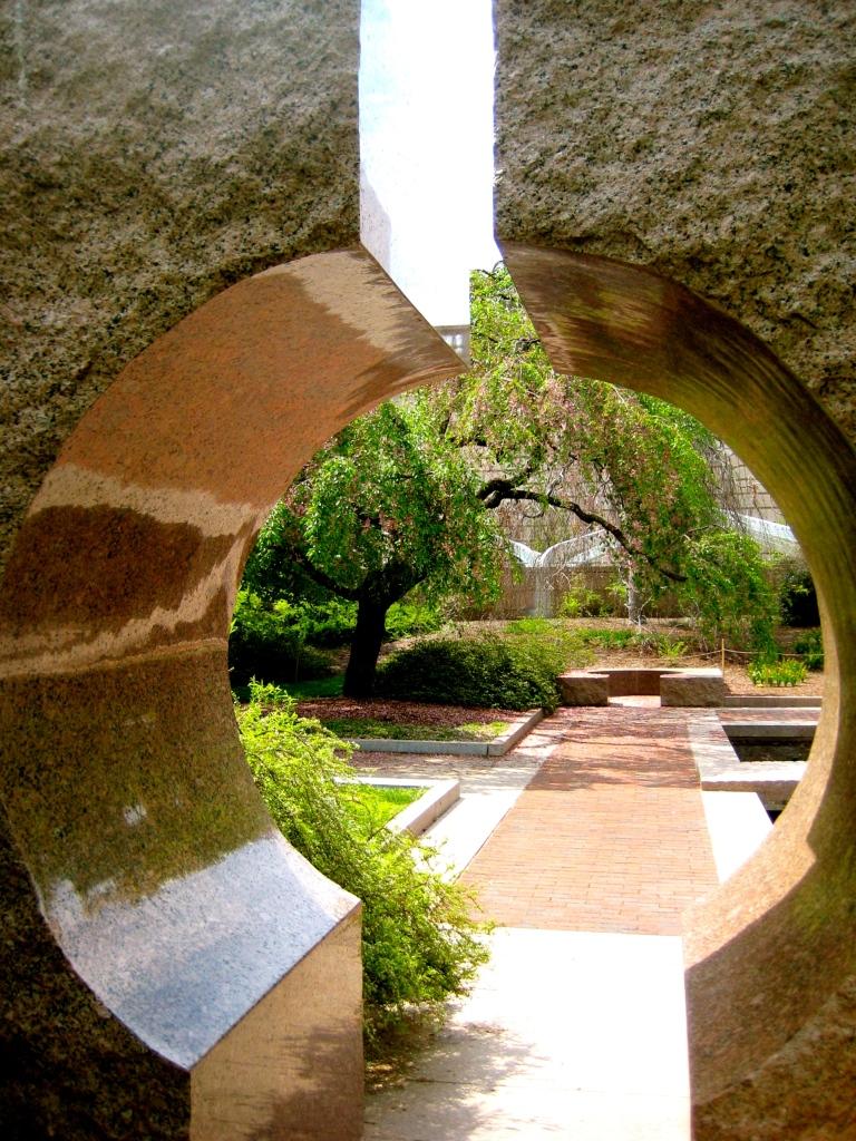 The Moongate Garden, Enid A. Haupf Gardens, Smithsonian Castle, Washington, DC