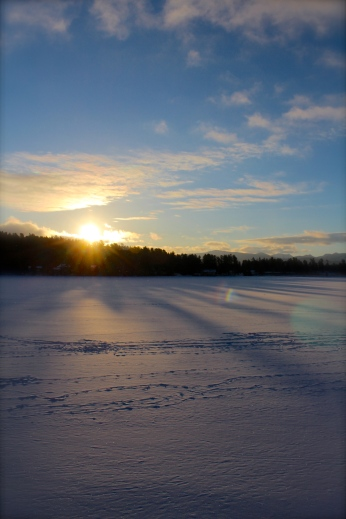 Lake Placid Sunrise II