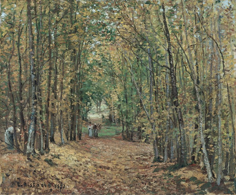 The Woods at Marly, 1871, Thyssen-Bornemisza Museum