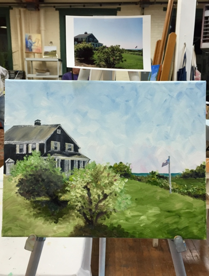 cape cod painting