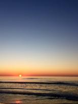 blue sunrise