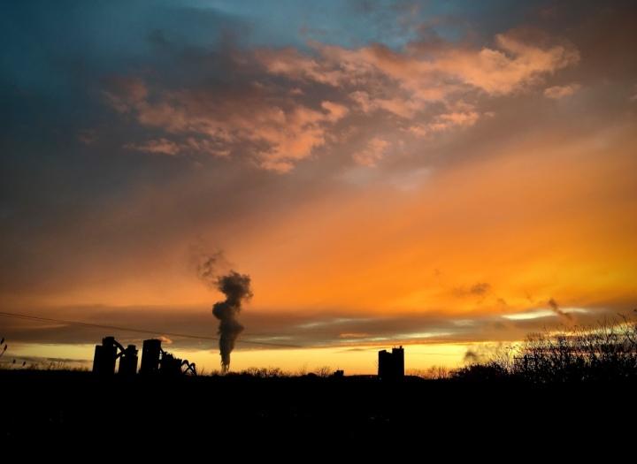 smoky-sunset